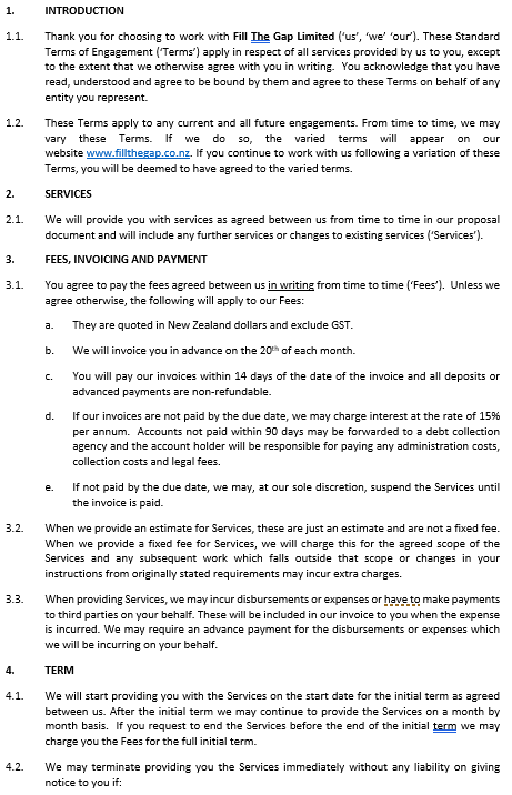Terms Page 1